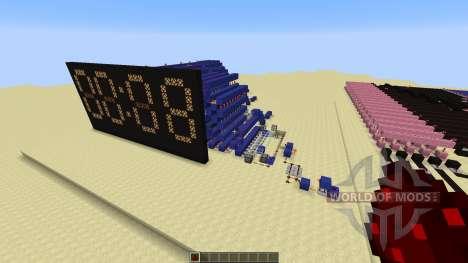 Redstone Calculator and Redstone Digital Clock para Minecraft