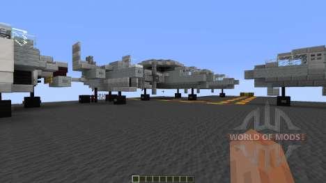 USS Enterprise CVN65 para Minecraft