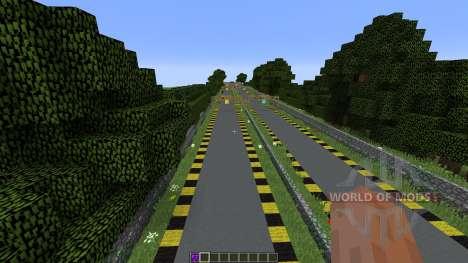 Minecraft Drag Racing para Minecraft