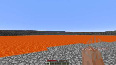 Extreme Lava islands survival para Minecraft
