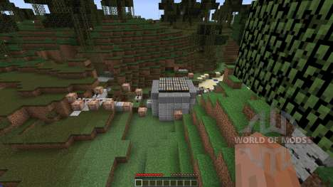 The Quest for The Sponge para Minecraft
