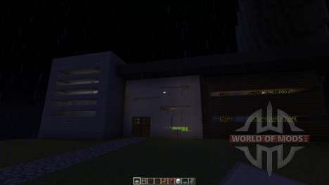 PLANINA A Modern House para Minecraft