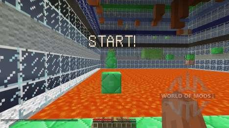 Ascend Minecraft Parkour Map [1.8][1.8.8] para Minecraft