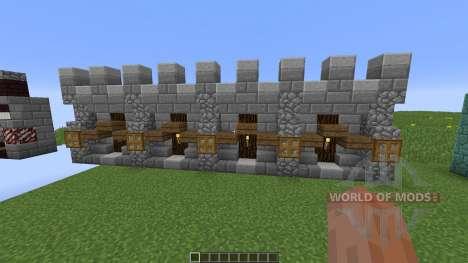 Custom Wall Pack para Minecraft