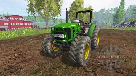 John Deere 5055 para Farming Simulator 2015