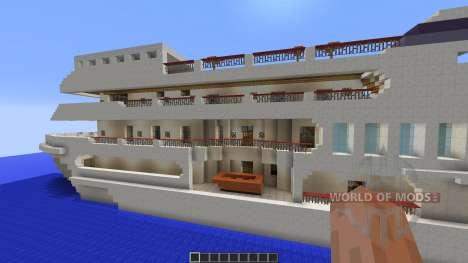 Luxury Yacht para Minecraft