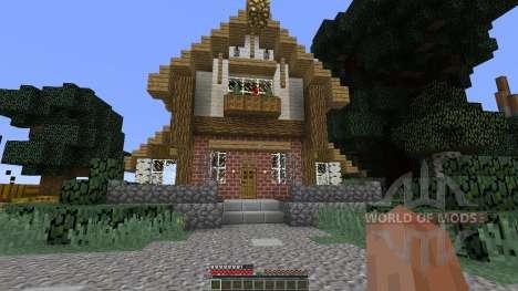 Medieval Fantasy Building Pack 2 Minecraft para Minecraft