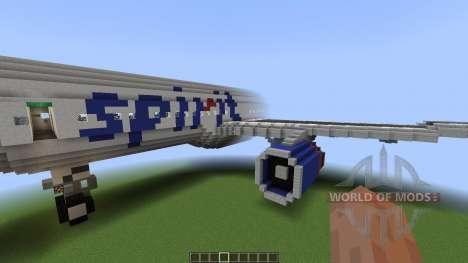 Airbus A320SL Spirit Airlines [1.8][1.8.8] para Minecraft