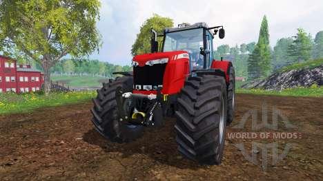 Massey Ferguson 8737 [fixed] para Farming Simulator 2015