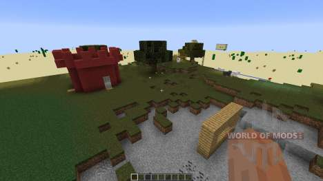 paintball map 8 para Minecraft