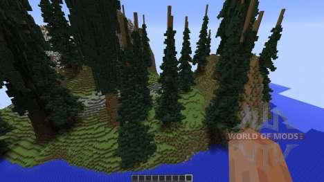 Trikula Island para Minecraft