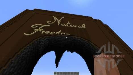 Natural Freedom para Minecraft