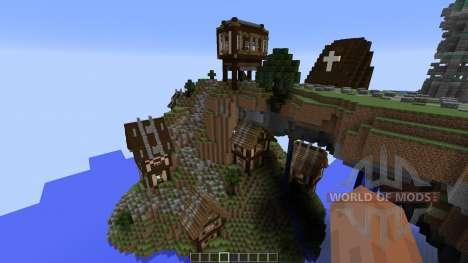 Cirrane The Forgotten Town para Minecraft