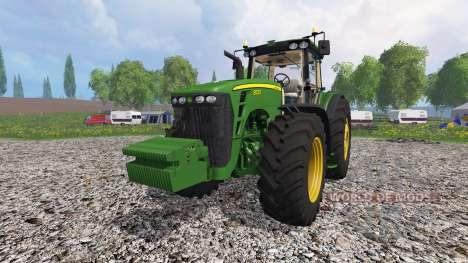 John Deere 8530 v1.3 para Farming Simulator 2015
