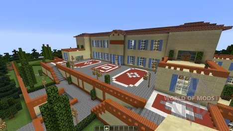 Villa Leopolda para Minecraft