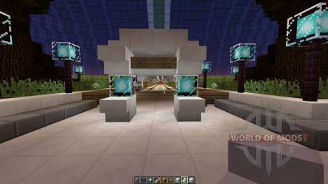 Asteroid Space Station para Minecraft