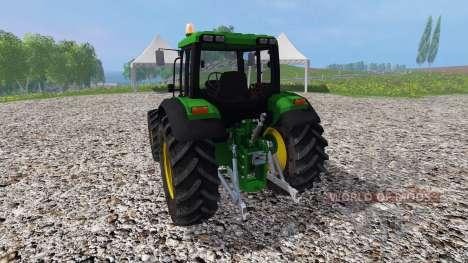 John Deere 6100 v2.0 para Farming Simulator 2015