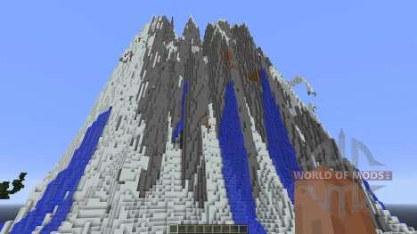 Sáaret 2k Custom Terrain para Minecraft