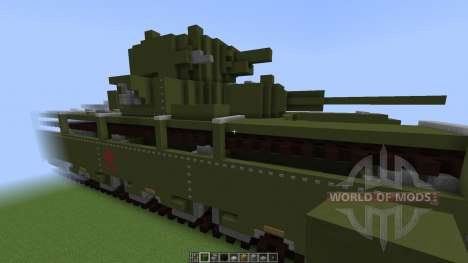 Soviet T-35 Heavy Tank [1.8][1.8.8] para Minecraft