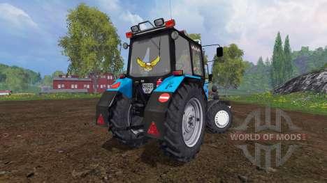 MTZ-82.1 Belarús optimización v2.0 para Farming Simulator 2015