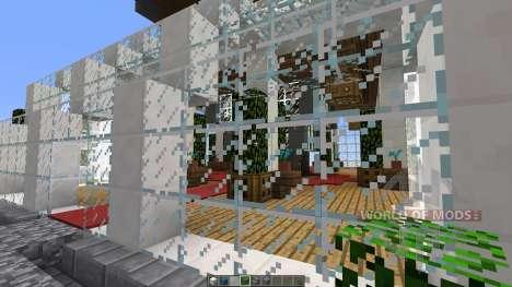 Sunset Living A modern Skyscraper para Minecraft