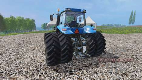 New Holland T8.435 v1.3 para Farming Simulator 2015