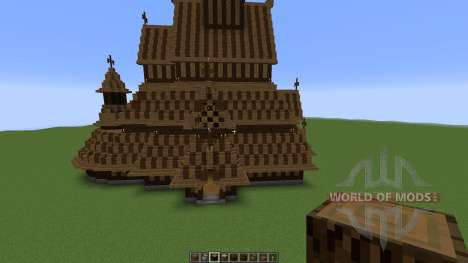 Borgund Stave Church para Minecraft