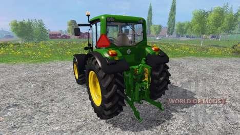 John Deere 6430 para Farming Simulator 2015
