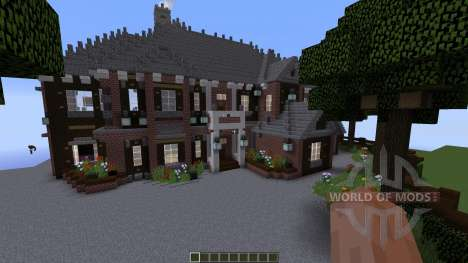 Brick Mansion para Minecraft