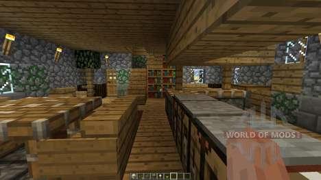 The Burrow para Minecraft