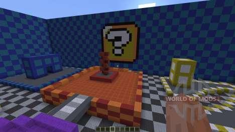 Mario Kart Wii Block Plaza Remake para Minecraft