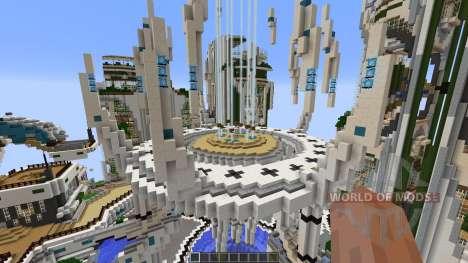 SuperHG Future City para Minecraft