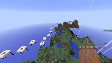 Sky Run Parkour para Minecraft