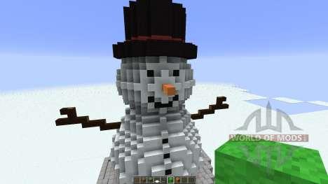 Cute Snowman para Minecraft