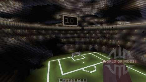 Huge soccer staduim para Minecraft