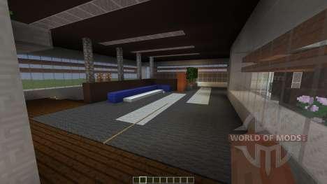 Avalon a modern contemporary home para Minecraft