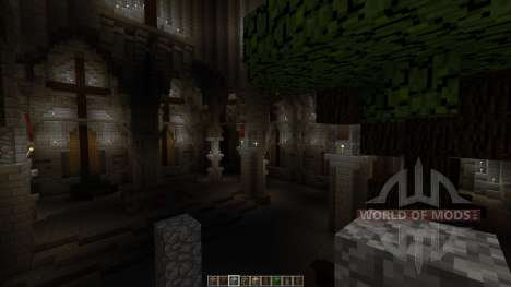 Postapocalyptic cathedral Halbshooter para Minecraft