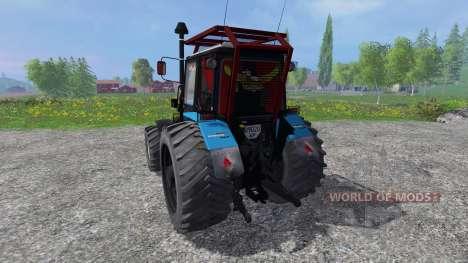 MTZ-V Belarús v2.0 para Farming Simulator 2015