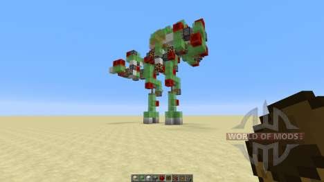Atlas Mech Suit with Missile Launcher para Minecraft