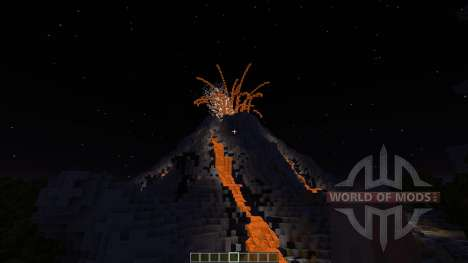 Volcano Island SG MAP para Minecraft