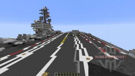 Carrier Strike Group para Minecraft