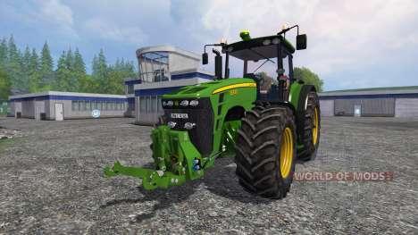 John Deere 8330 v4.1 para Farming Simulator 2015