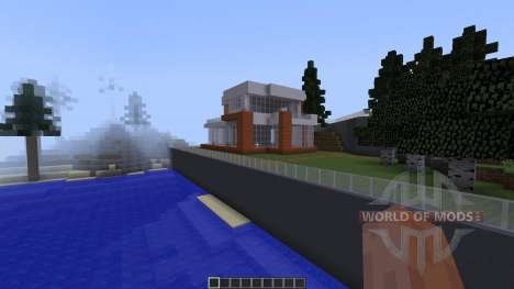Summer LakeHouse Modern [1.8][1.8.8] para Minecraft