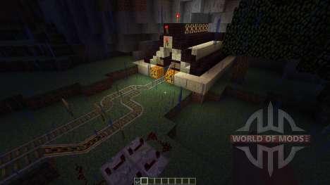 VeseliDs world HUGE train system [1.8][1.8.8] para Minecraft