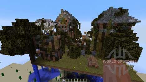 Abandoned Steampunk Island para Minecraft