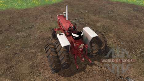 Farmall 1206 dually wheels para Farming Simulator 2015