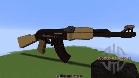 AK rifle [1.8][1.8.8] para Minecraft