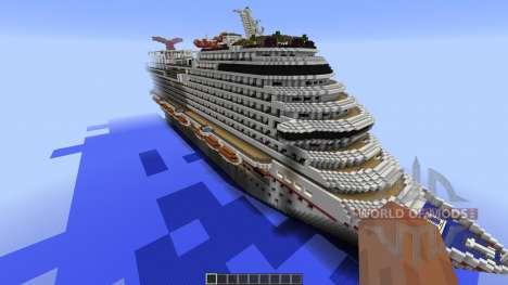 Carnival Vista para Minecraft