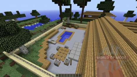 Huge Unbelivable City para Minecraft