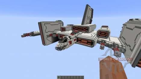 Barracuda Heavy starfighter para Minecraft